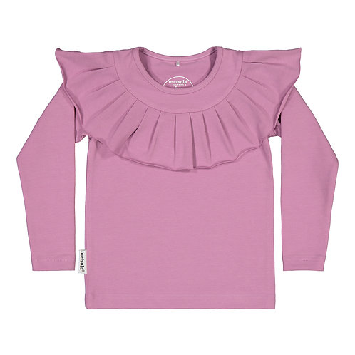 Frilla T-shirt LS, blueberrymilk