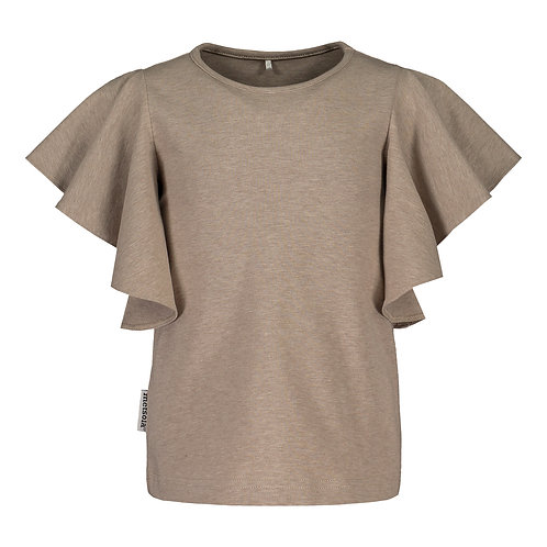 Frilla Shirt SS, Cashew