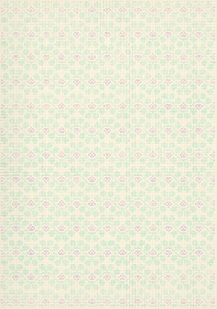 Flower Field Ⅸ, 2018-19. Pencils on paper, 102 × 72 cm