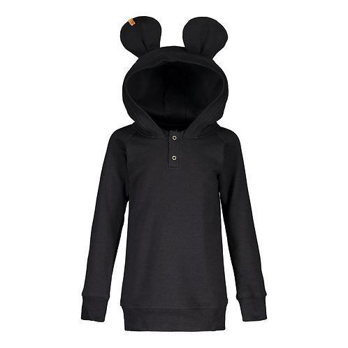 Bear Hoodie, black
