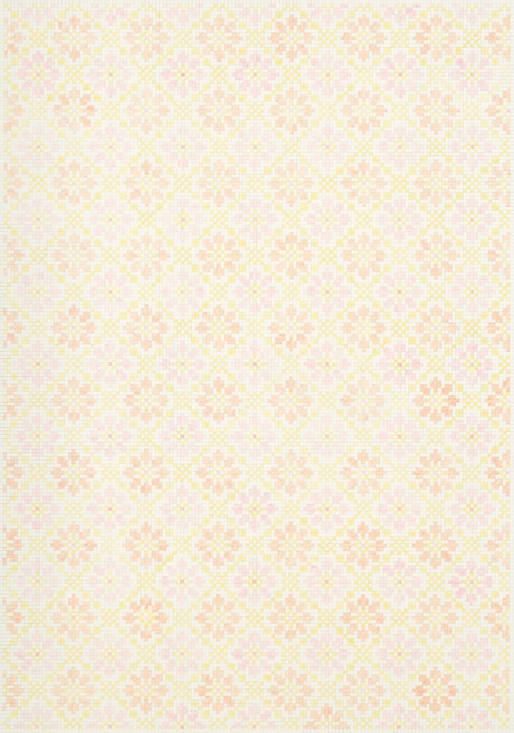 Flower Field XIⅠ, 2020. Pencils on paper, 102 × 72 cm