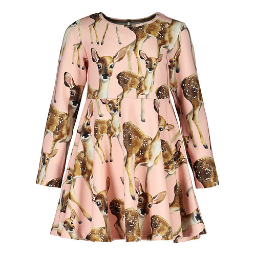 Bambi Dress, pink salt