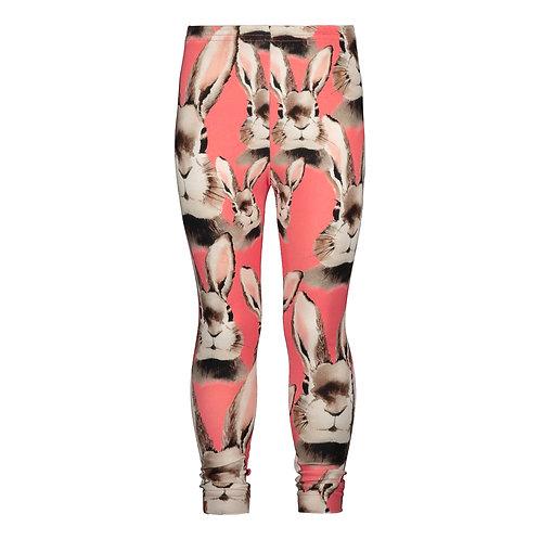 Bunny Leggings, dark pink
