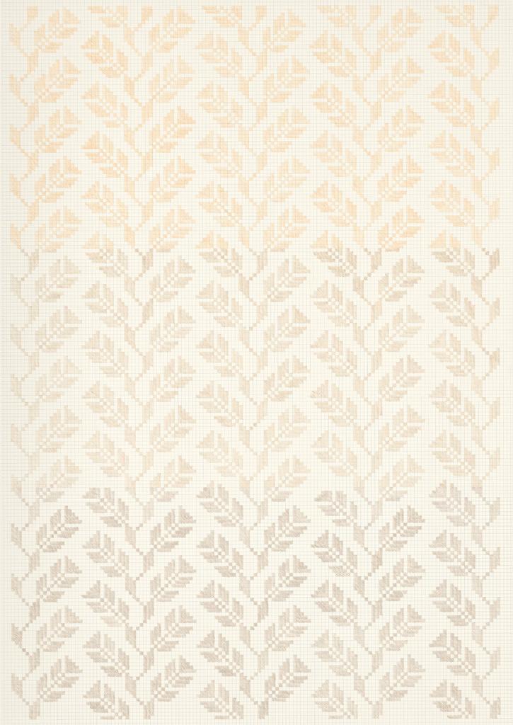 Flower Field Ⅲ, 2018-19. Pencils on paper, 102 × 72 cm