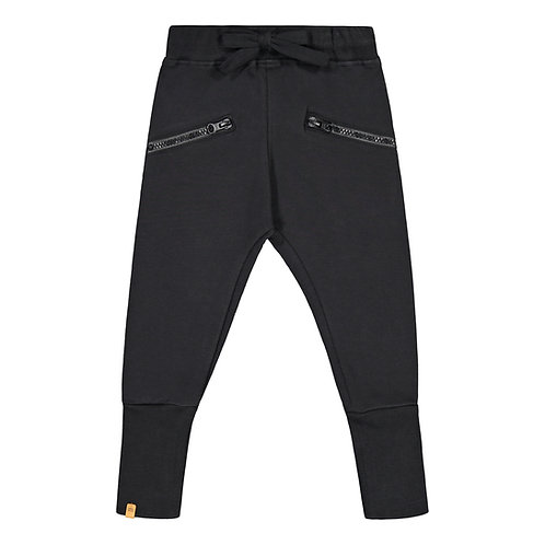 Zipper housut, black