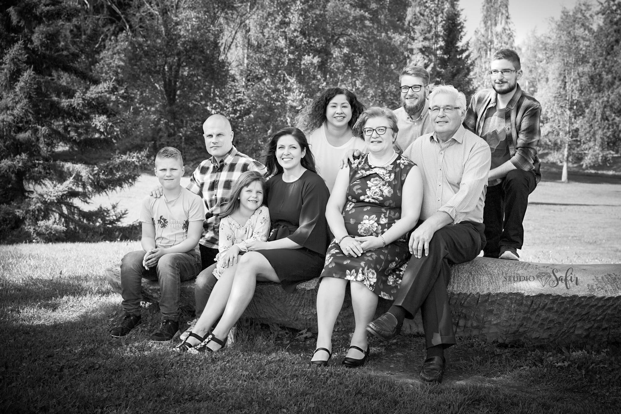 Ryhmäkuvaus / Gruppfotografering