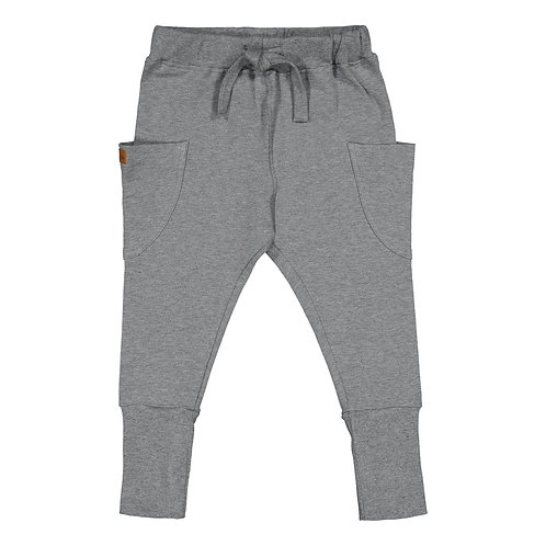 Pocket Pants, grey melange