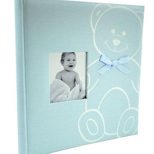 Baby Bear vauva-albumi sininen 29x32cm