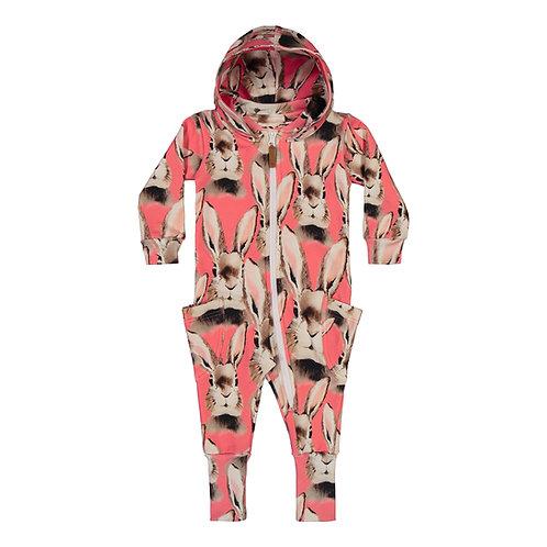 Bunny Jumpsuit, dark pink
