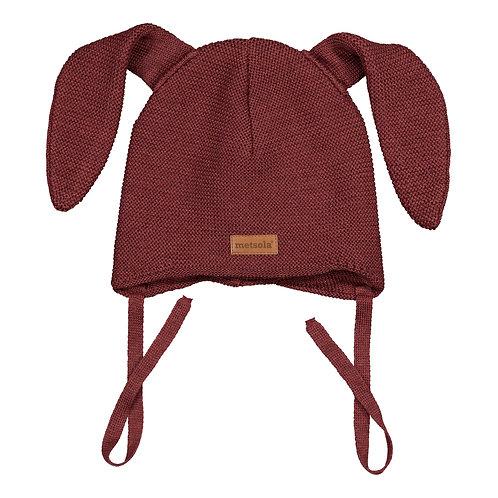 Merinowool Baby Beanie Bunny, Pompelo
