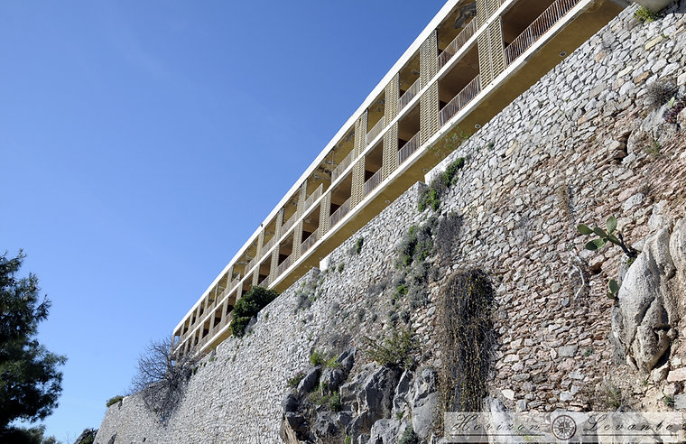 Νότια ανατολική περιτείχιση κάστρου Toro