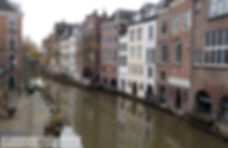"Oudergracht ""old canal"" Utrecht"