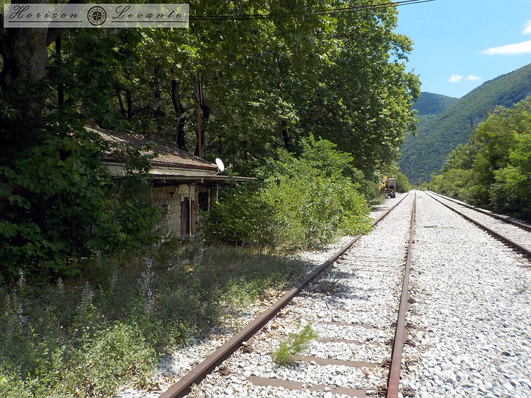 45 Μονοπάτι σιδηροδρομικών Σταθμός Ασωπο