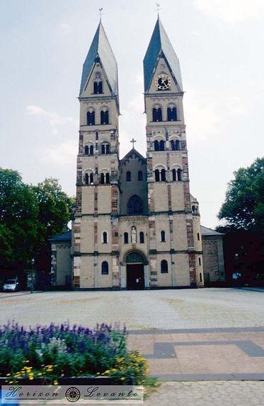 9 koblenz Basilika St. Kastor 12th centu