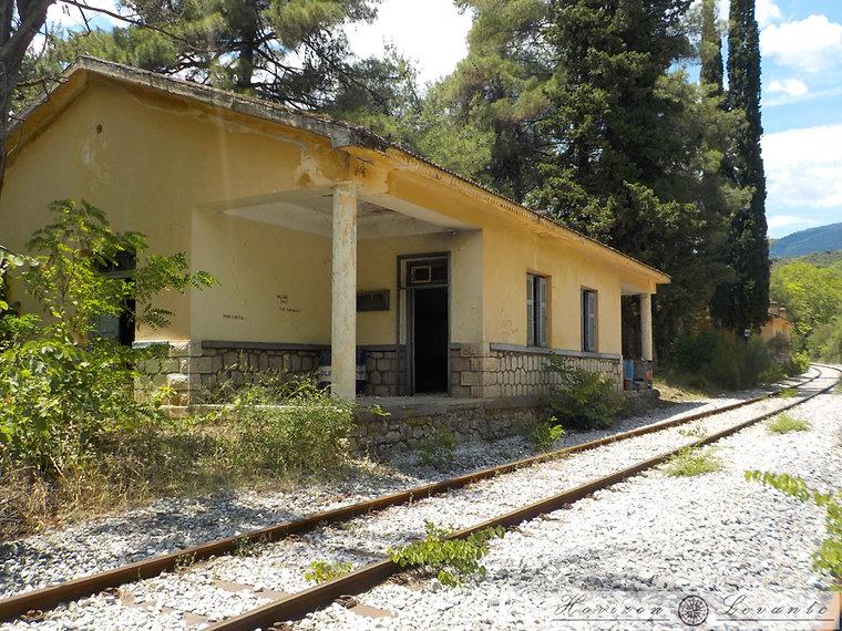 46 Μονοπάτι σιδηροδρομικών Σταθμός Ασωπο
