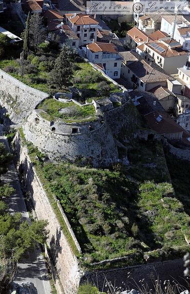 Προμαχώνας Grimani και μέρος του Κάστρου