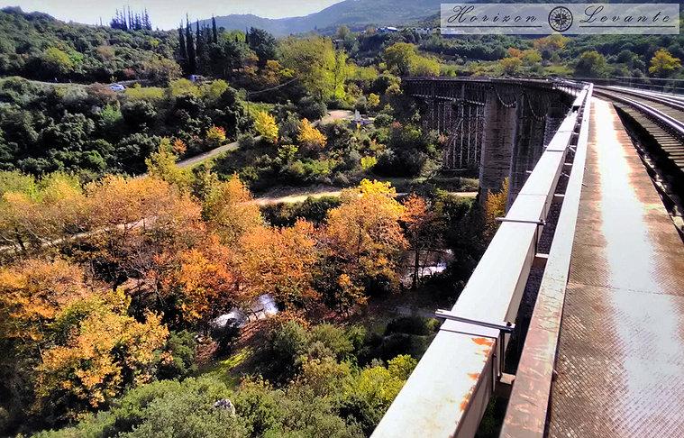 Γέφυρα Γοργοπόταμου κατεύθυνση προς Μπρά
