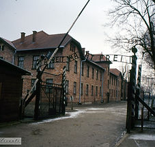 Auschwitz The gate