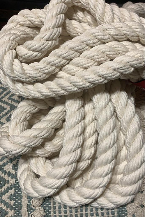 Natural 25mm Rope