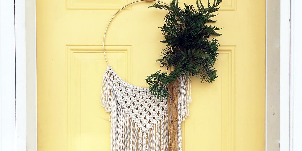 Private Event - Lindsay (Macrame Wreath)