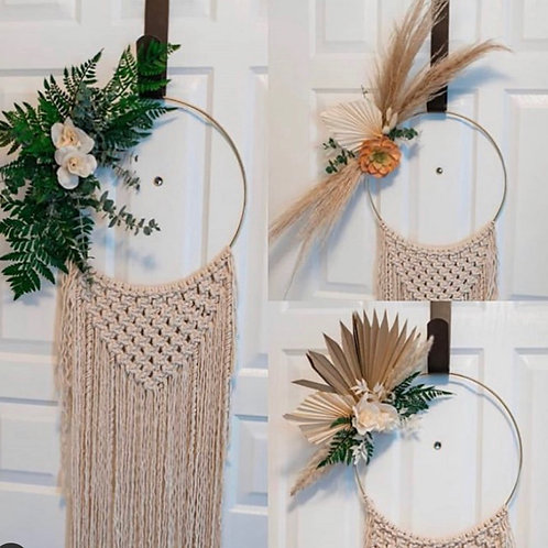 Adventure Floral Wreath