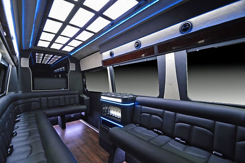 mercedes sprinter limo interior