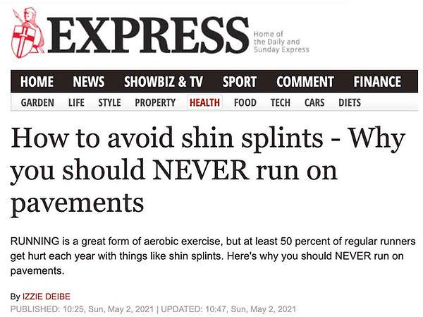 Express-newspaper-running-MSR Doctors-20