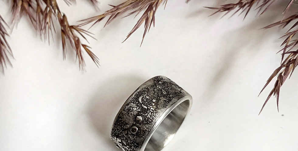 Sterling Silver Man's Ring Size 9