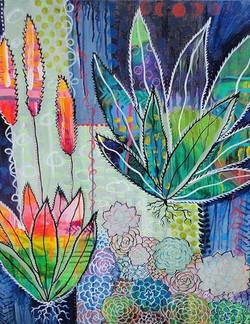 """""""Succulents"""" By Maya Chalee"""
