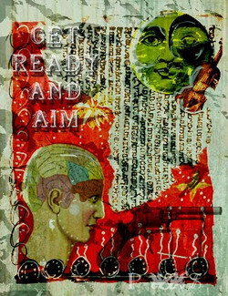 """""""Ready Aim"""" by Maya Chalee Grey"""