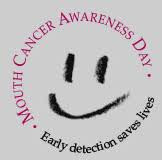 Mouth Cancer Awareness Day 19th Sept 2018