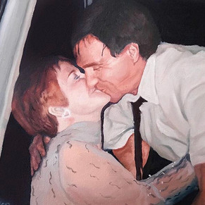 "oil on canvas 12x15"""