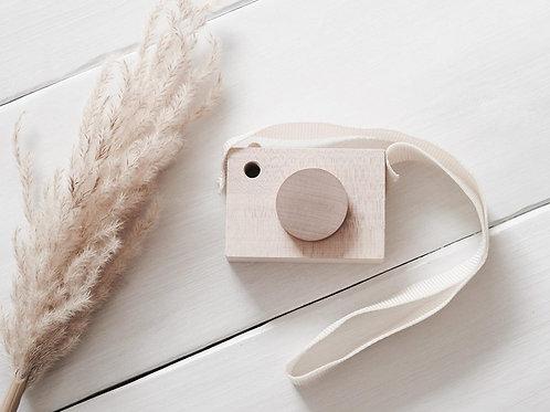 Holzkamera Kamera Spielzeug kidswoodlove natur Design Holz Camera Holzspielzeug Kinder Geschenk Kind Fotografie