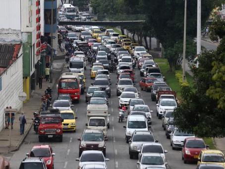 El Pico y placa en Cali será suspendido entre el 1 y 13 de enero para todos los carros particulares