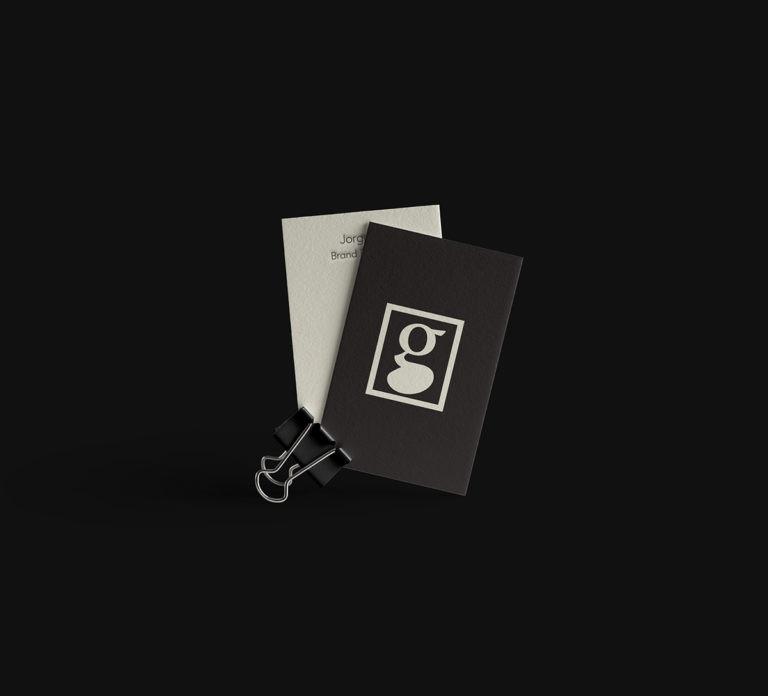 Estilo Identity Tarjetas digitales