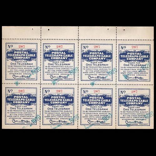 Postal Telegraph Co., 1920
