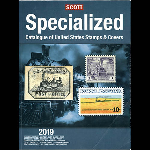 2019 Scott Specialized Catalogue of United States
