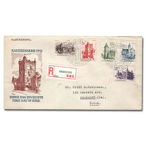 Netherlands, FDC's