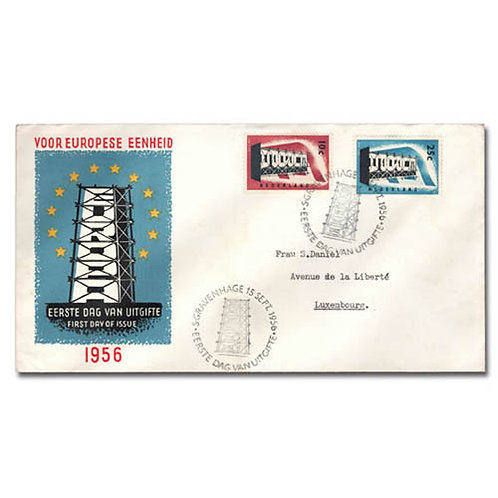 Netherlands, 1956, EUROPA complete
