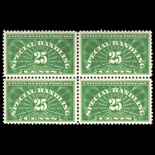 Special Handling, 1925-40, 25¢ (Scott QE4a),