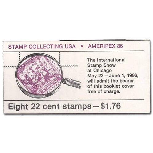 Error: 1986, 22¢ Stamp Collecting