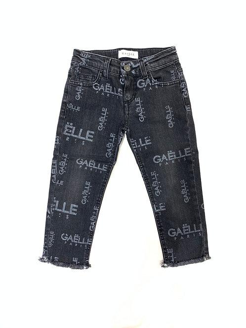 Jeans Gaelle con scritte