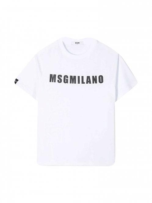 T-shirt Jersey Msgm Unisex