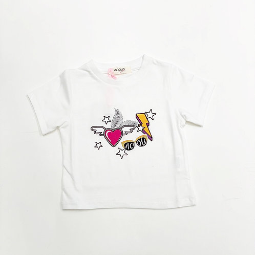 T-shirt Vicolo Girl