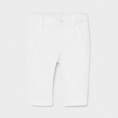Pantalone bianco mayoral
