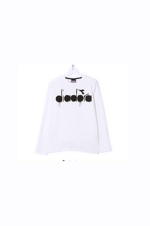 Diadora T-Shirt Bianca M/L