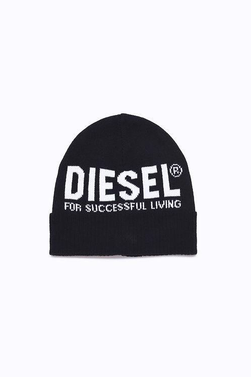 Diesel Cappello con logo Bianco