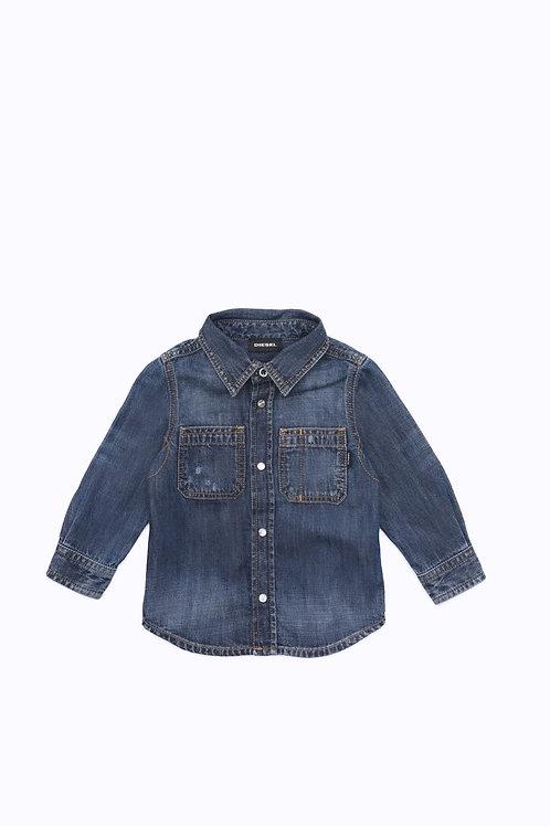 Diesel Camicia Di Jeans Neonato