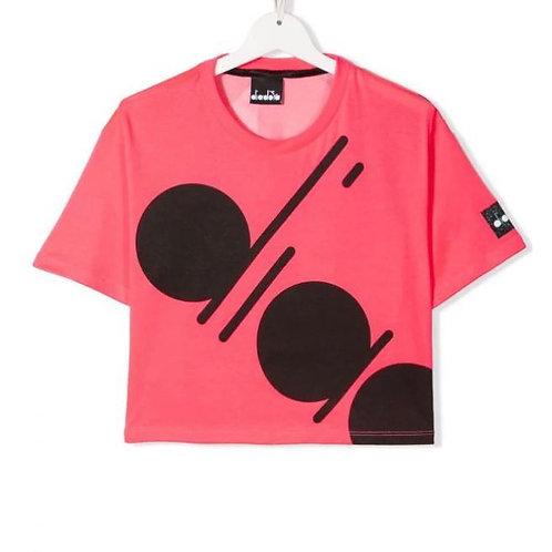 T-Shirt Cropped Diadora