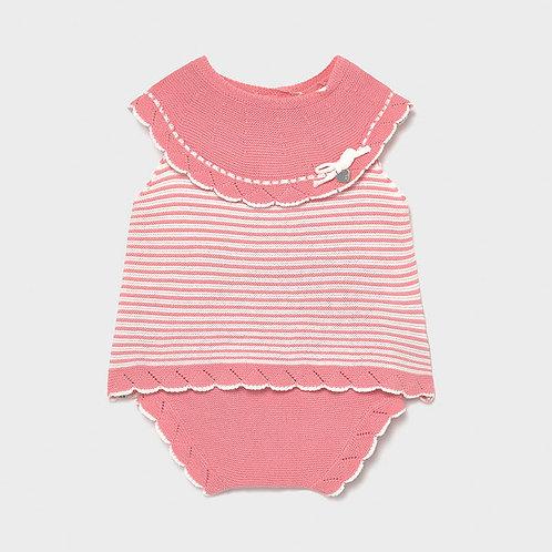 Completo tricot Ecofriends neonata mayoral